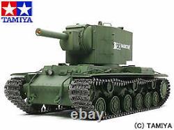 Tamiya 1/16 Rc Tank Series No. 29 Soviet Kv-2 Gigant Lourd Jeu D'opération Complet Jouet