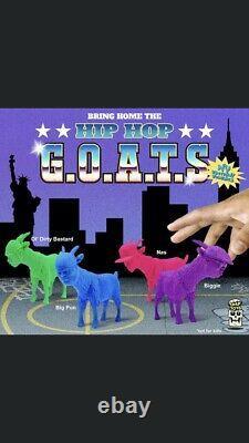 Tarap Toys Nas Notorieux Big Hip Hop Goats Full Set Odb Big Pun Vendu! Royaume