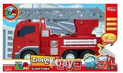 Tayo Petit Bus Équipement Lourd Giant Toto, Max, Chris, Frank Jouet De Voiture De Grande Taille