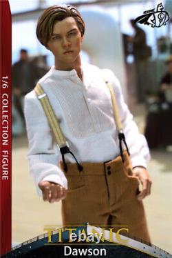 Titanic Dawson 16 Jack Leonardo Dicaprio 12 Mâle Figure Full Set Modèle Jouet