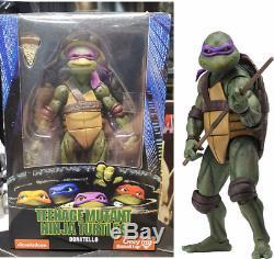 Tmnt 1990 7 Action Figure Teenage Mutant Ninja Turtles Neca Enfants Jouets Cadeaux