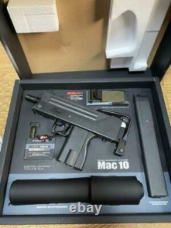 Tokyo Marui Mac10 Mac 10 Full Set Toy Gun Testé Près De Mint Ex++