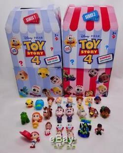 Toy Story 4 Minis Série 1 & 2 Figures Sac Aveugle Ensemble Complet De Tous Rare 24 Super