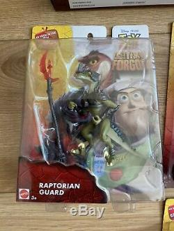 Toy Story Continent Oublié Figures Ensemble Complet Battleoplis 3 Pack Moc Brand New
