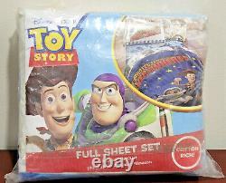 Toy Story Protégeant Les Jouets Partout, Vintage Ensemble De Feuilles Complètes Newithopen Pkg 4-piece