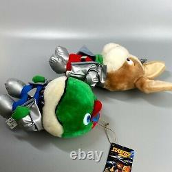 Très Rare 1993 Star Fox Fullset Nintendo Plush Jouet De Poupée Japan Retro Game Limité