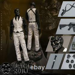 Vts Toys 1/6 Vm-029 Crâne Noir Soldat Ensemble Complet Figurine Collection De Poupées Cadeau De Jouet