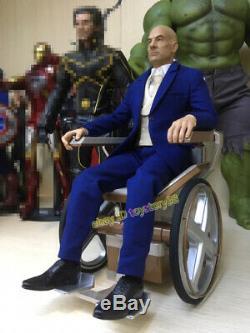 X-men Professeur X 1/6 Patrick Stewart Figurine Model Toys En Stock Nouveau
