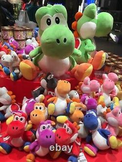 Yoshi Nintendo Peluche Officielle Ensemble Complet Craft World, Mario, Jouet Doux, Jouet Farci