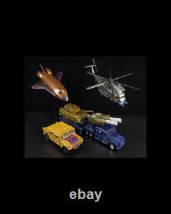 Zeta Toys Transformers Za-07 Bruticon Full Set Metallic Color Edition