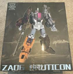 Zeta Toys Za-06 Bruticon Bruticus Ensemble Complet De 5. Chef-d'œuvre Transformers