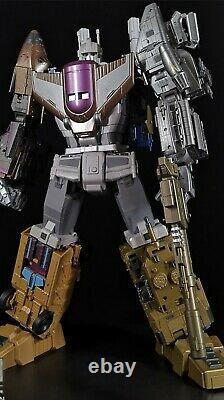 Zeta Toys Za-07 Bruticon Bruticus Metal Chest Version Complète Jeu De 5 Preorder
