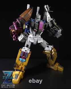 Zeta Toys Za-07 Bruticon Bruticus Metallic Edition Ensemble Complet De 5 Stock