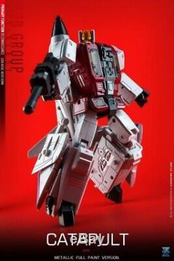 Zeta Toys Zb-06 Superitron Ensemble Complet Figures 3ème Partie Transformers Masterpiece